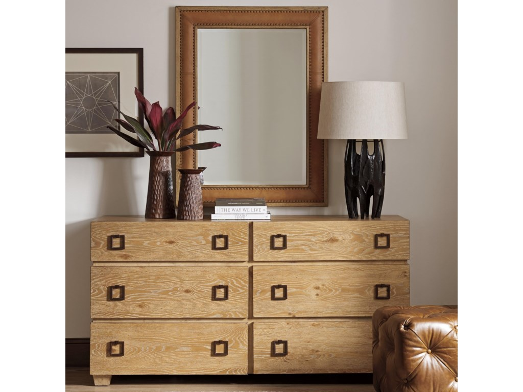 Tommy Bahama Home Los AltosDresser + Mirror Set