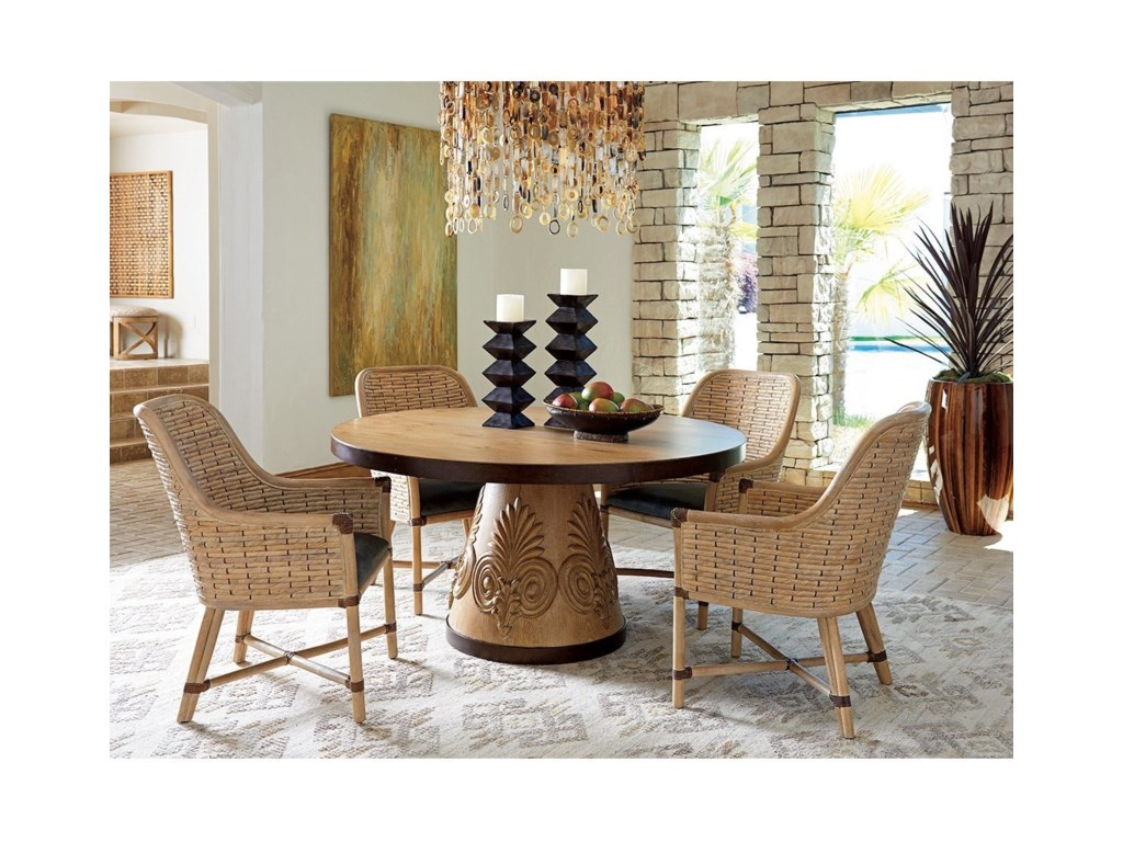 Tommy Bahama Home Los AltosWeston Round Dining Table