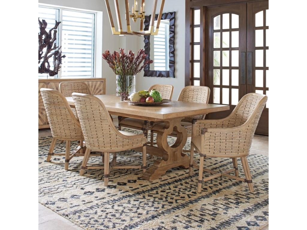 Tommy Bahama Home Los Altos7 Pc Dining Set