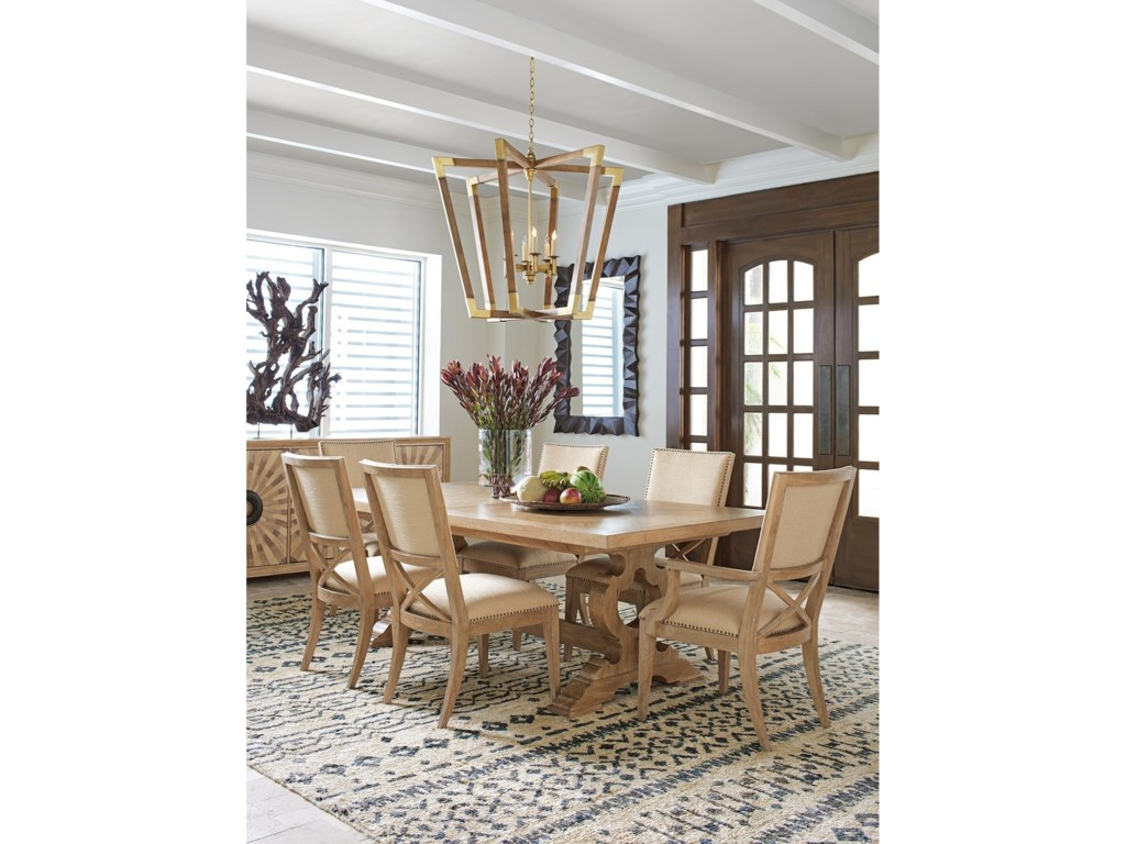 Tommy Bahama Home Los AltosFarmington Rectangular Dining Table