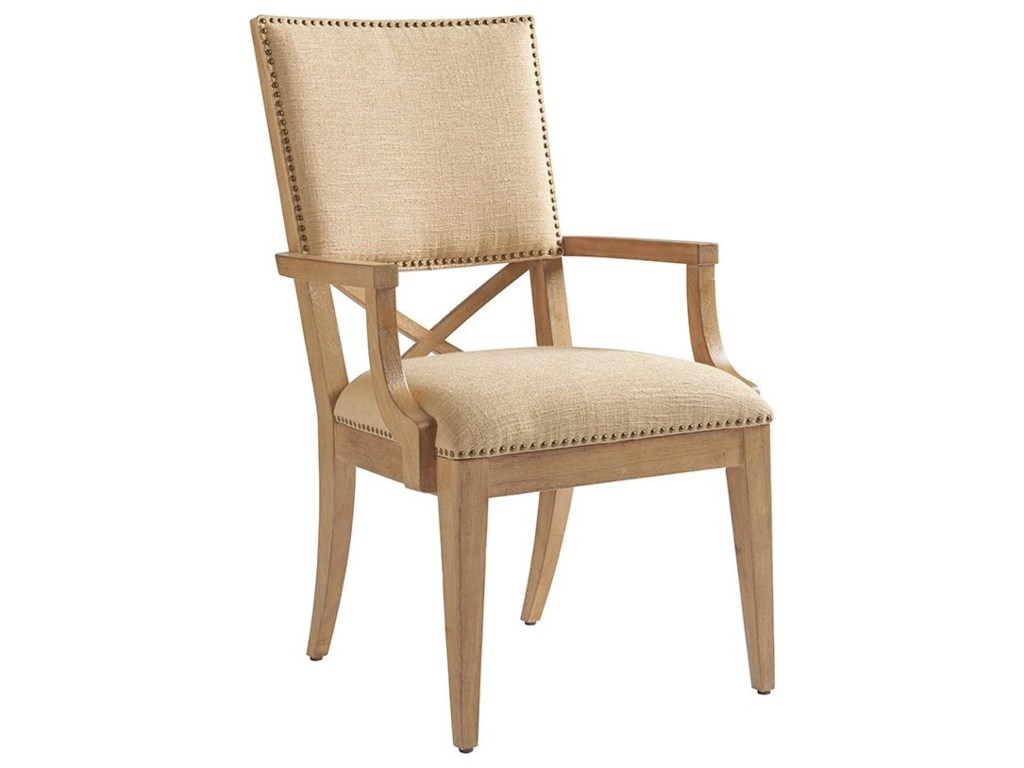 Tommy Bahama Home Los AltosAlderman Upholstered Arm Chair