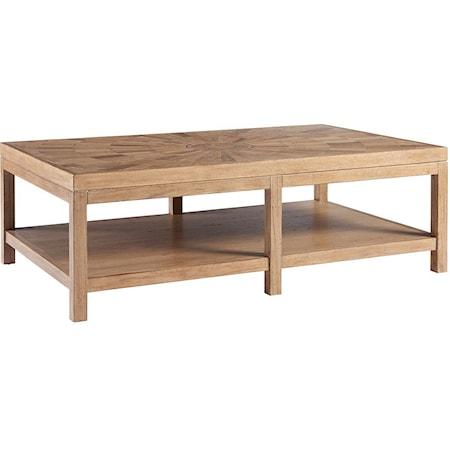 Duncan Rectangular Cocktail Table