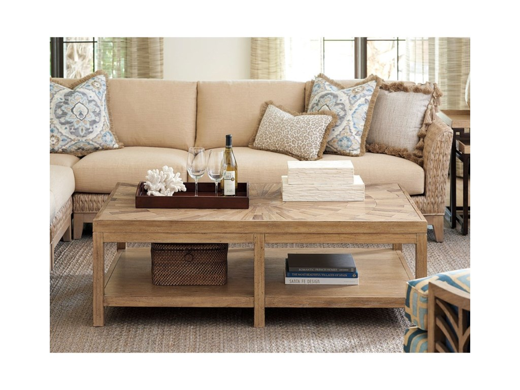 Tommy Bahama Home Los AltosDuncan Rectangular Cocktail Table