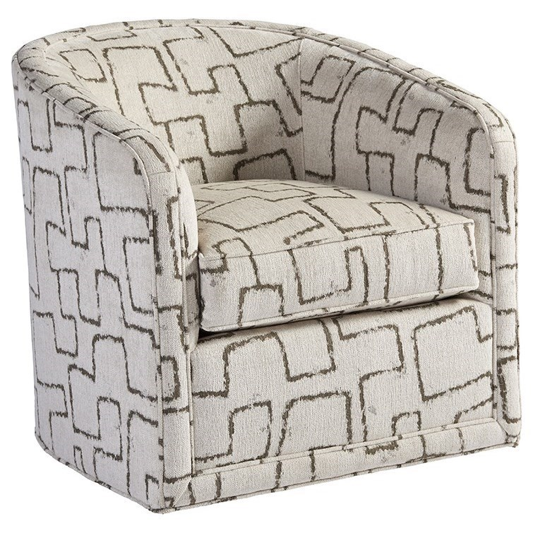Tommy Bahama Home Los AltosColton Swivel Chair