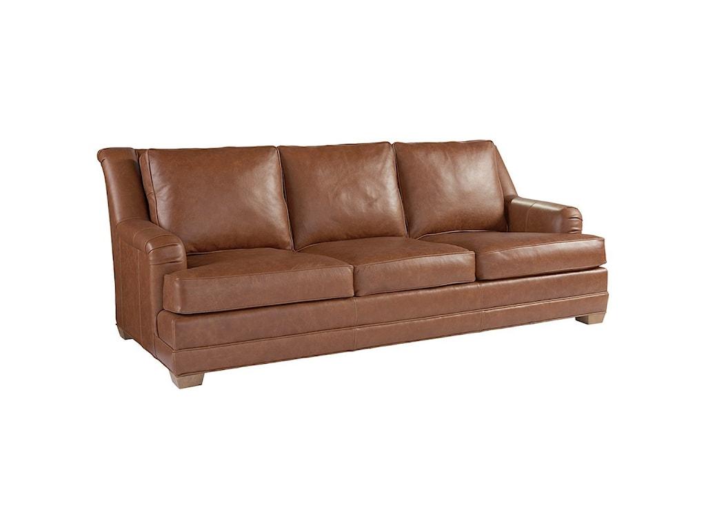 Tommy Bahama Home Los AltosBenton Leather Sofa