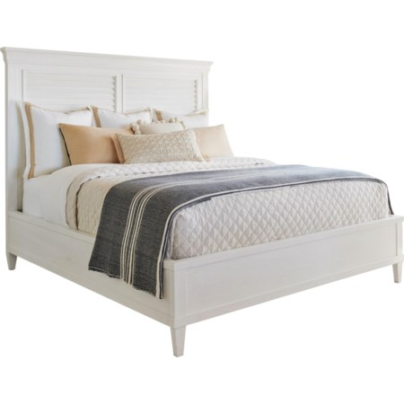 Royal Palm Louvered Bed Queen