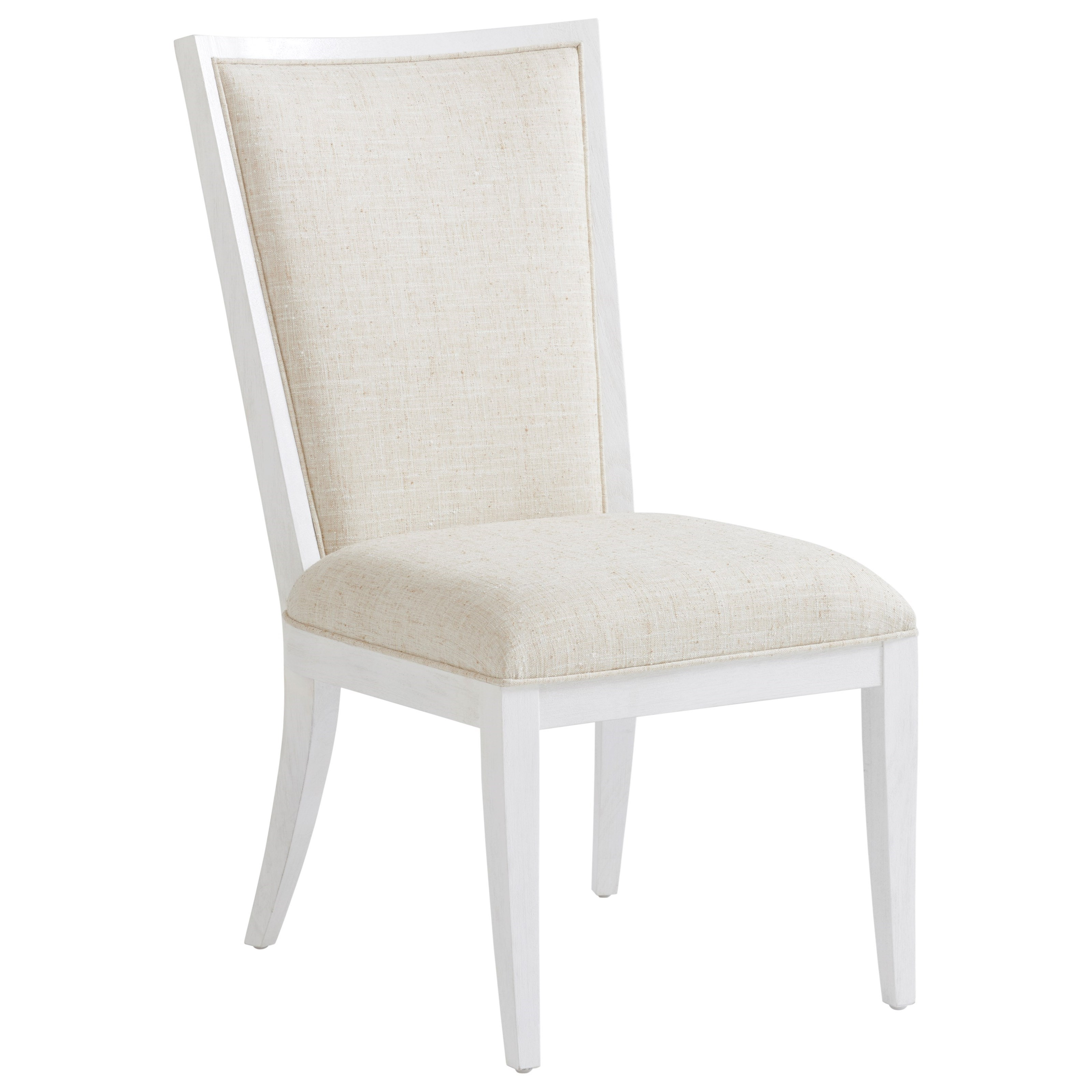 Sea Winds Upholstered Side Chair in Sanibel Fabric