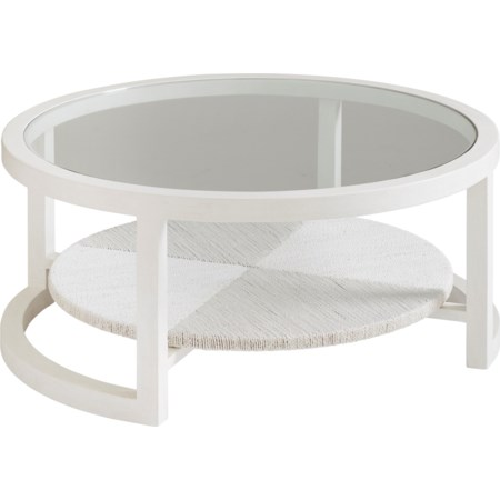 Pompano Round Cocktail Table