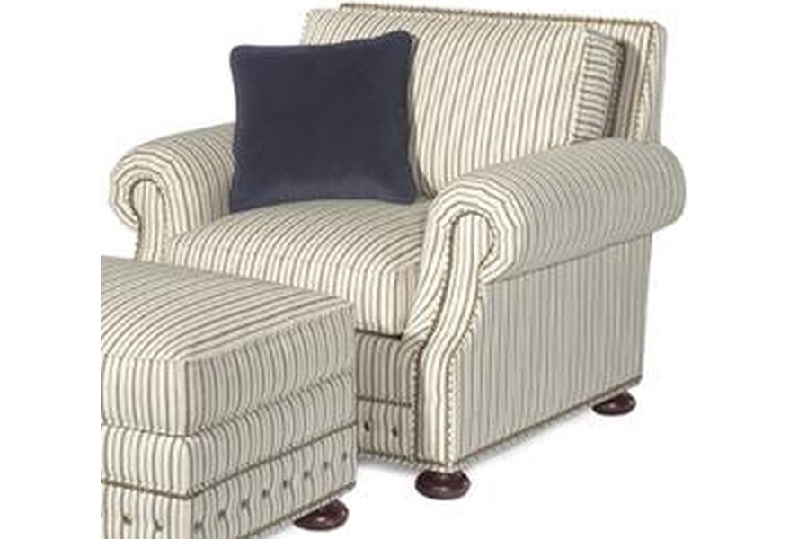Tommy Bahama Home Kingstown 7221 11 Devon Loose Back Chair Baer S Furniture Upholstered Chairs