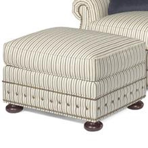 Tommy Bahama Home Kingstown Devon Semi-Attached Top Ottoman