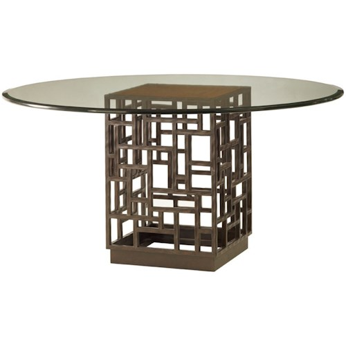 Tommy Bahama Home Ocean Club 54 Inch South Sea Round Gl Table