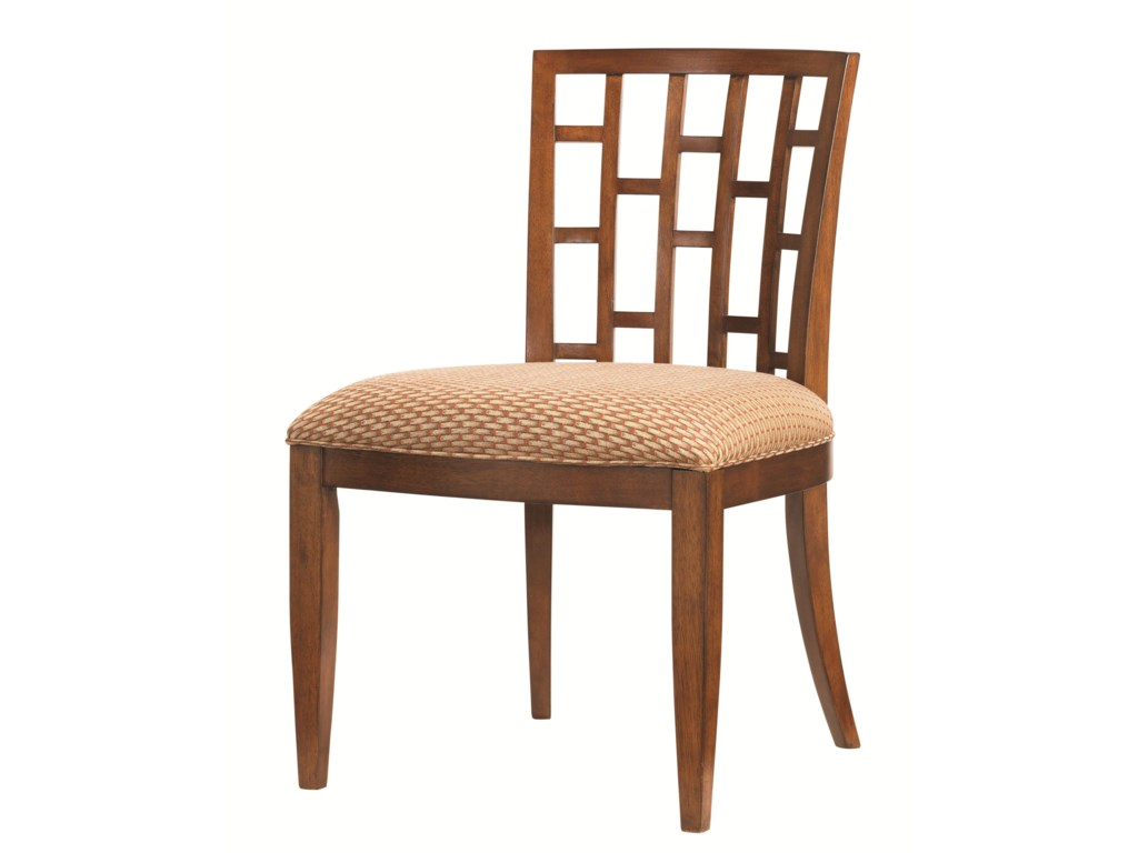 Tommy Bahama Home Ocean Club <b>Quick Ship</b> Lanai Side Chair with ...