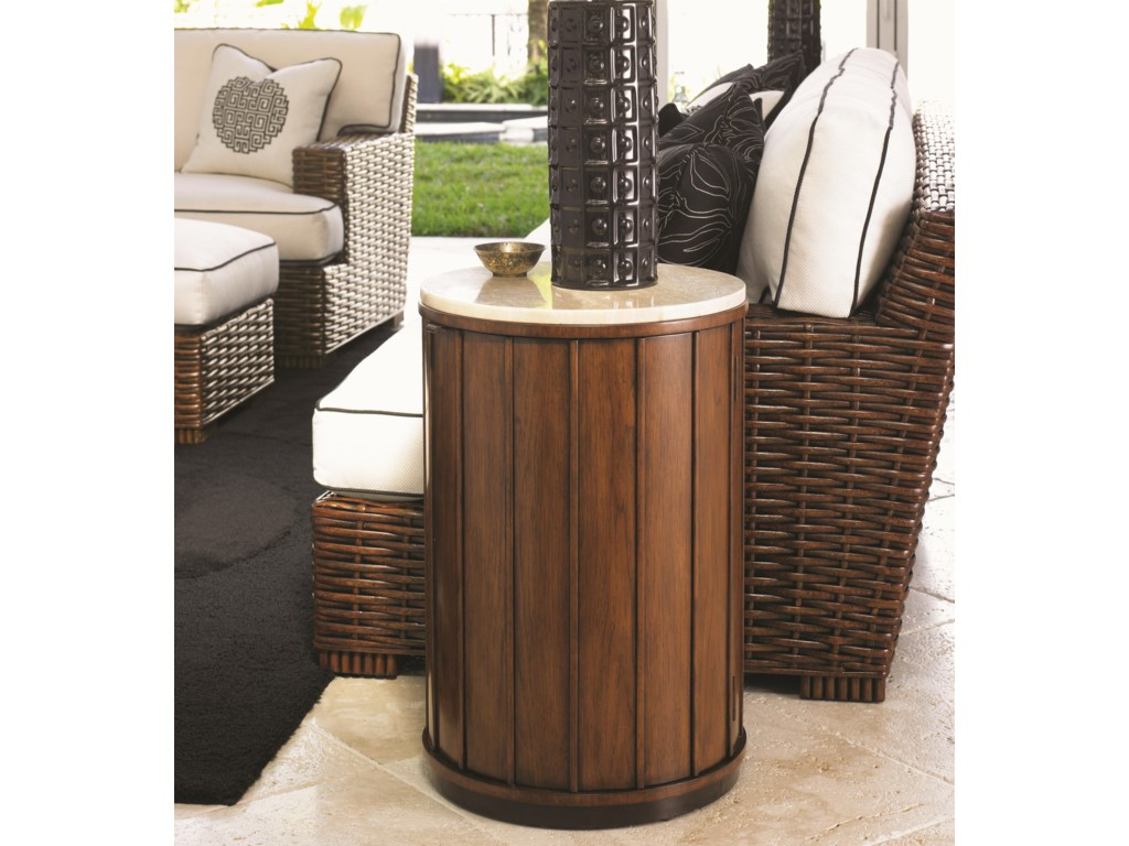 Tommy Bahama Home Ocean ClubFiji Drum Table