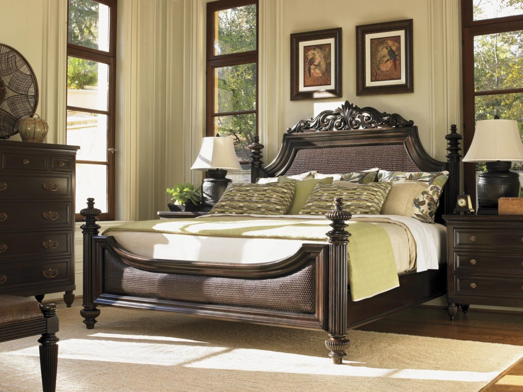 Tommy Bahama Home Royal KahalaKing Harbour Point Bed