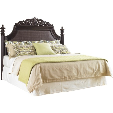 Queen Harbour Point Headboard