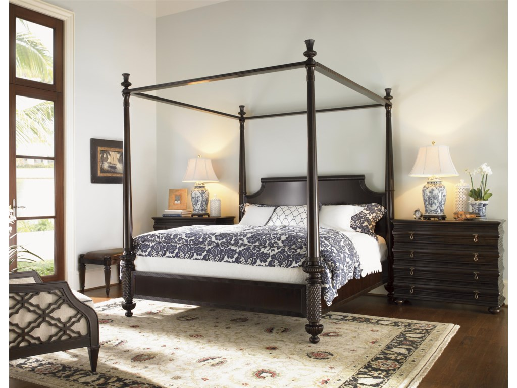 Tommy Bahama Home Royal KahalaQueen Diamond Head Bed