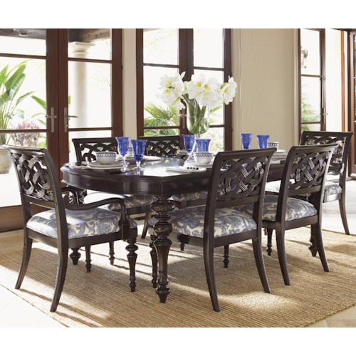 Tommy Bahama Home Royal Kahala Seven-Piece Islands Edge