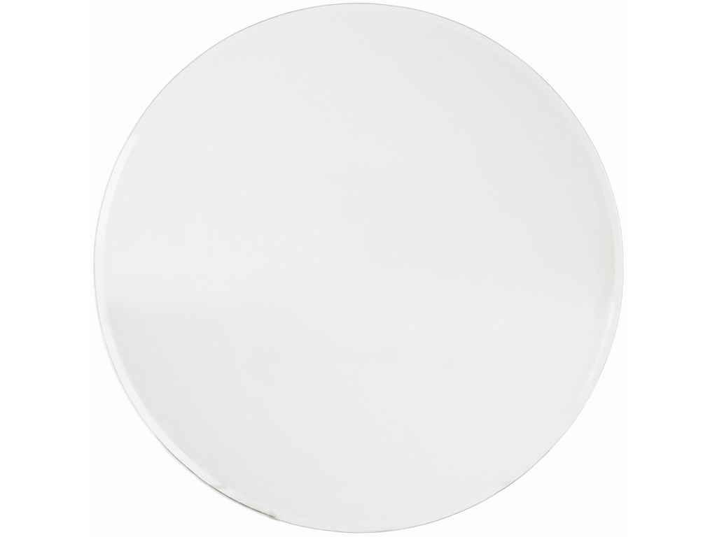 54-Inch Round Glass Tabletop