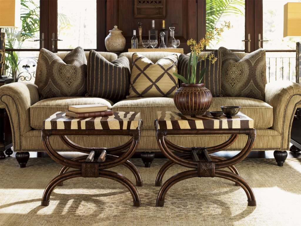 Shown with Striped Delight Accent Tables