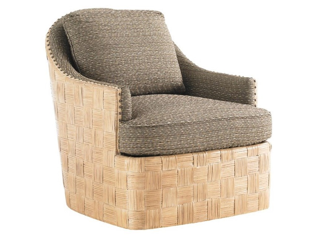 Tommy Bahama Home Tommy Bahama UpholsteryByron Bay Swivel Chair