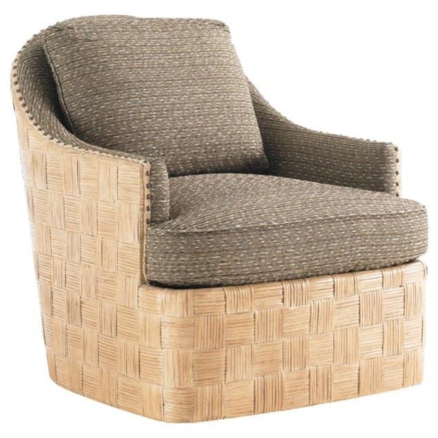 Tommy Bahama Home Tommy Bahama UpholsteryByron Bay Swivel Chair