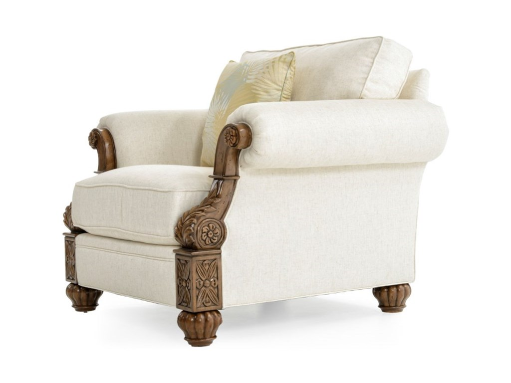 Tommy Bahama Home Tommy Bahama UpholsteryBenoa Harbour Chair Custom