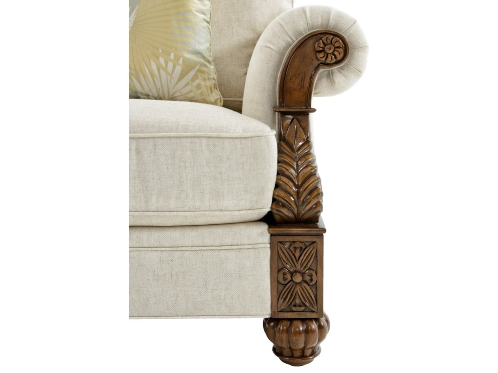 Tommy Bahama Home Tommy Bahama UpholsteryBenoa Harbour Chair Married