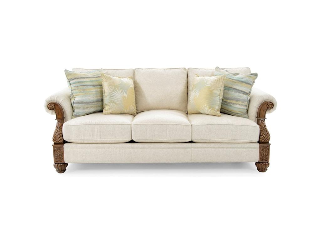 Tommy Bahama Home Upholsterybenoa Harbour Sofa Married Fabric