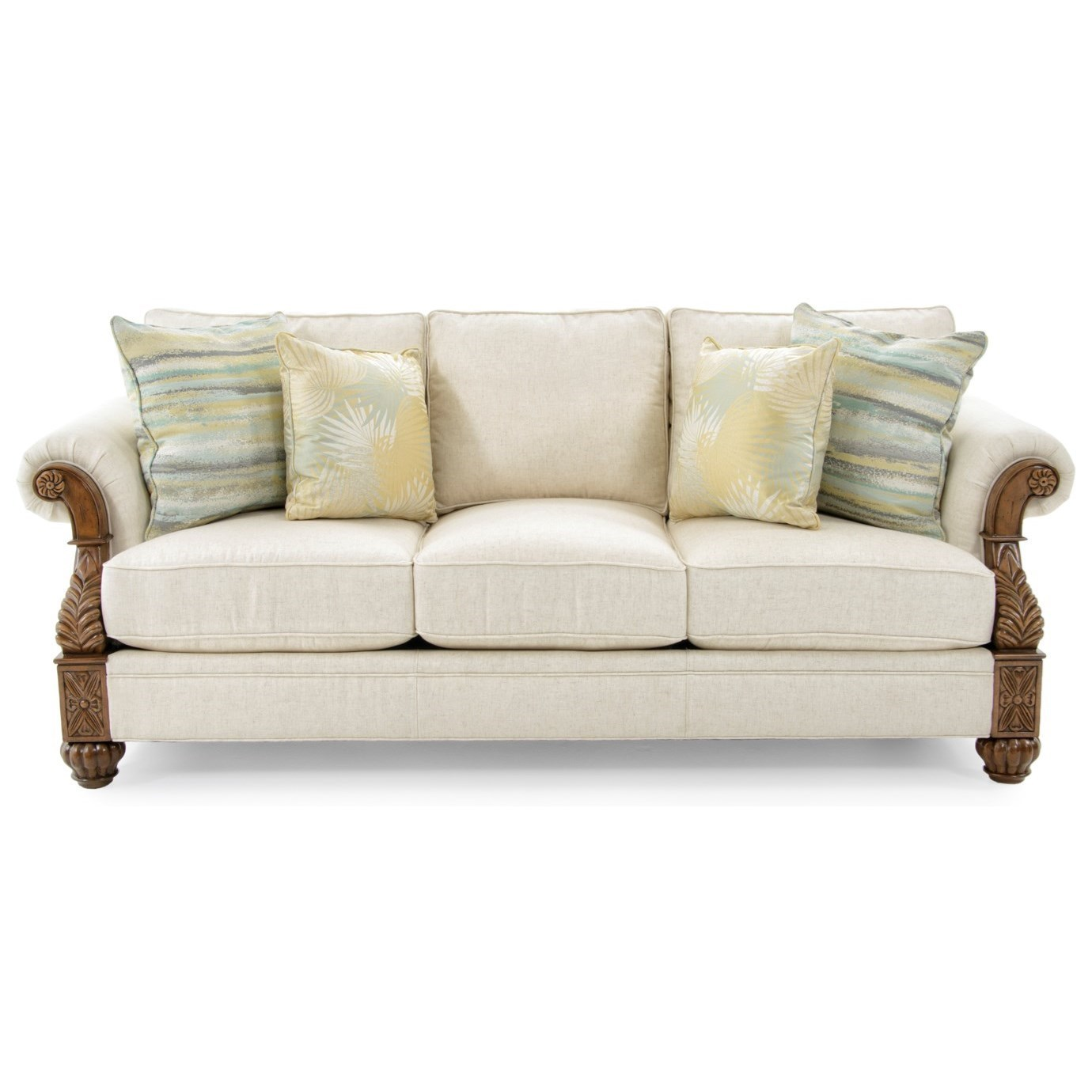 Delicieux Tommy Bahama Home Tommy Bahama Upholstery Benoa Harbour Loose Back Sofa In  Customizable Fabrics