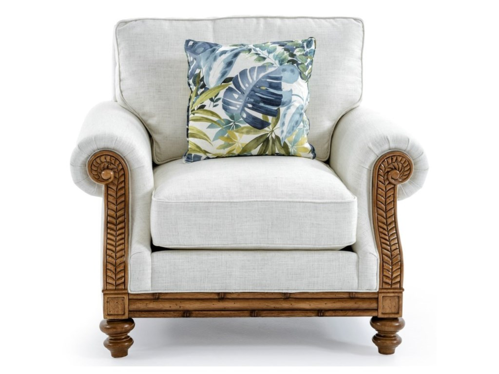 Tommy Bahama Home Tommy Bahama UpholsteryQuick Ship West Shore Chair