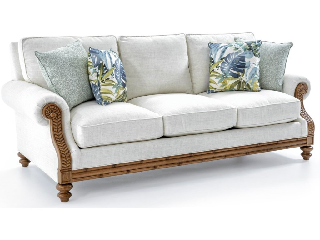Tommy Bahama Home Tommy Bahama UpholsteryQuick Ship West Shore Sofa