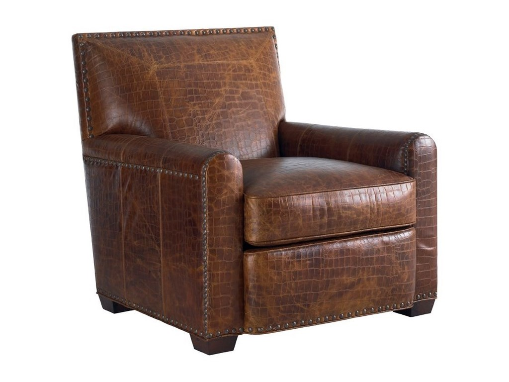 Tommy Bahama Home Tommy Bahama UpholsteryStirling Park Leather Chair