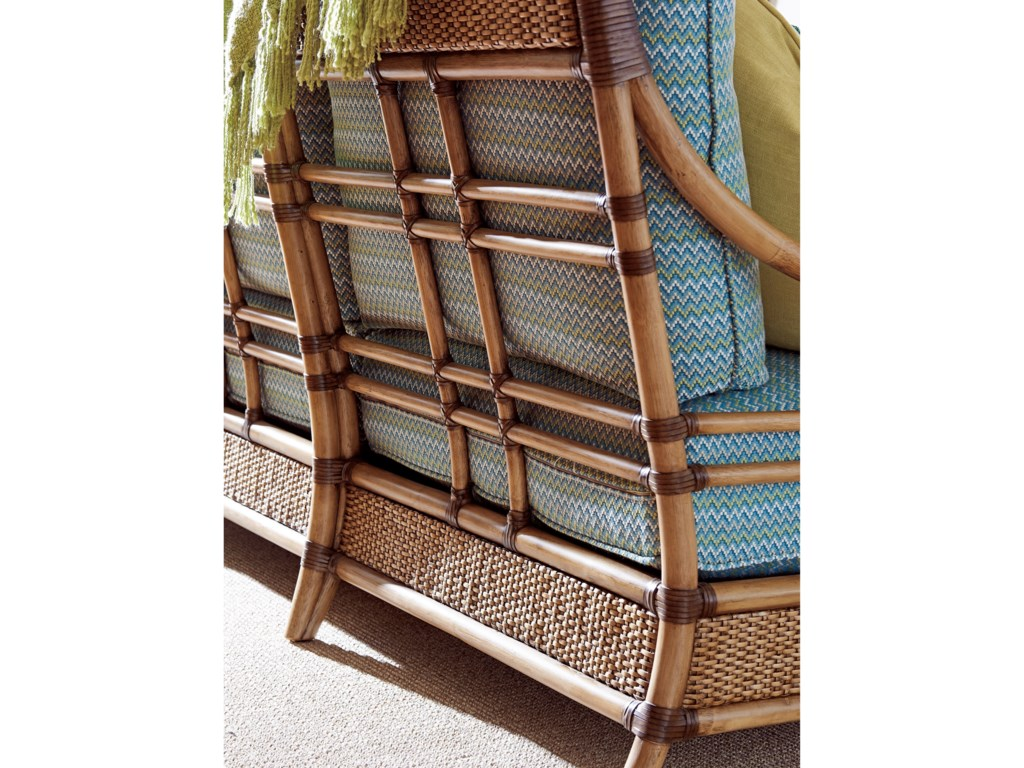 Tommy Bahama Home Twin PalmsSeagate Sofa
