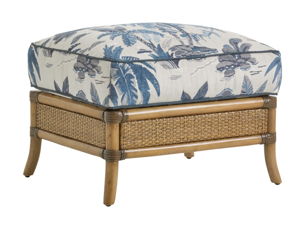Tommy Bahama Home Twin PalmsSeagate Ottoman