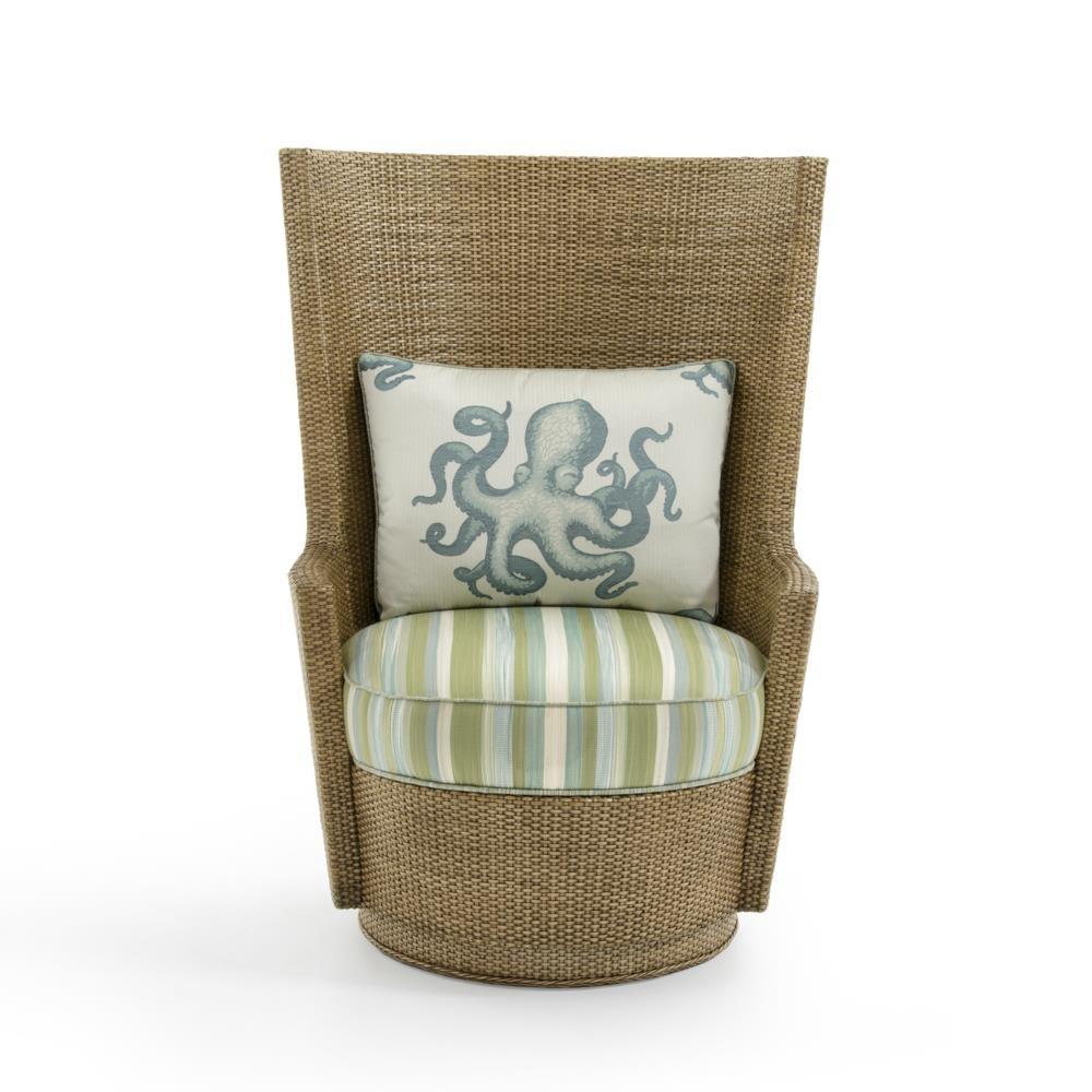 Tommy Bahama Home Twin PalmsLago Mar Swivel Chair ...