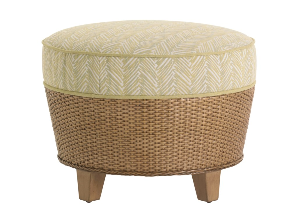 Tommy Bahama Home Twin PalmsLago Mar Ottoman