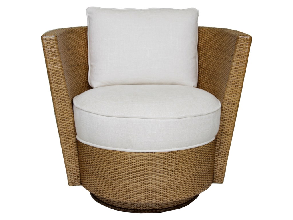 Tommy Bahama Home Twin PalmsTarpon Cay Swivel Chair