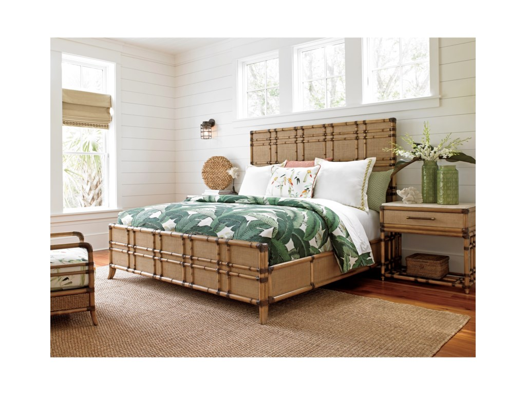 Tommy Bahama Home Twin PalmsQueen Bedroom Group