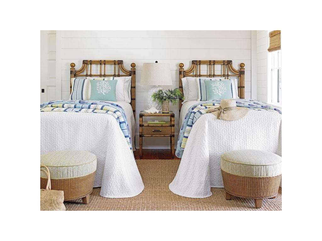 Tommy Bahama Home Twin PalmsSt. Kitts Twin Sized Headboard