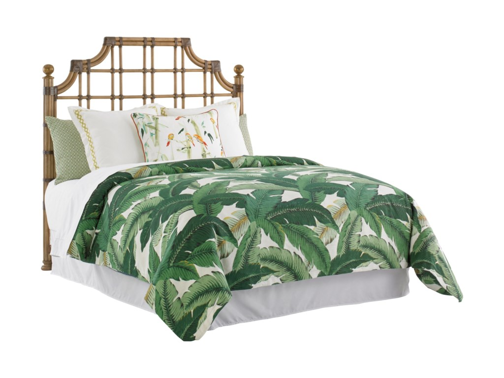 Tommy Bahama Home Twin PalmsSt. Kitts Queen Sized Headboard