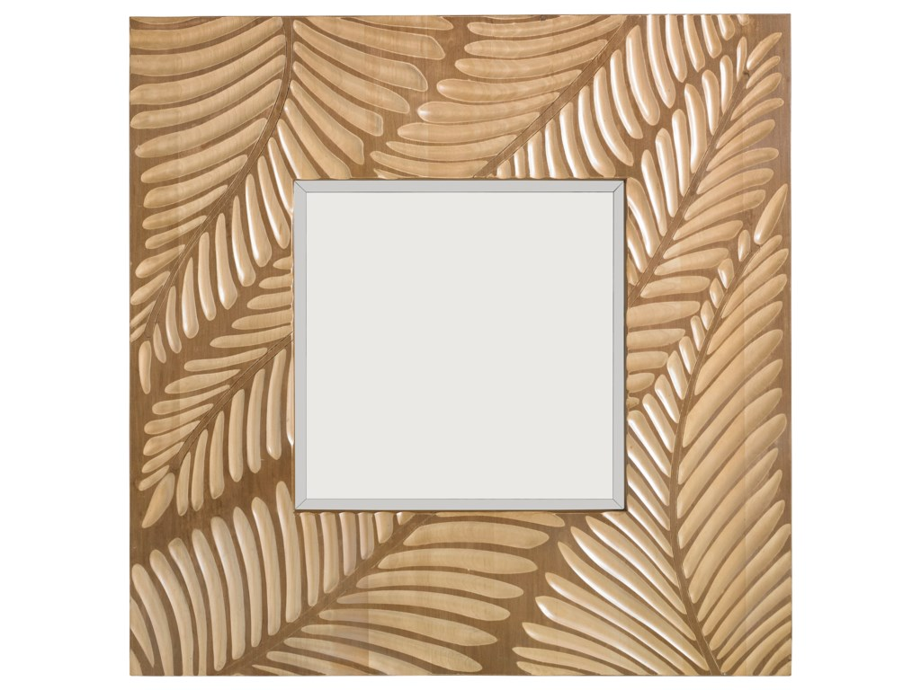 Tommy Bahama Home Twin PalmsFreeport Square Mirror