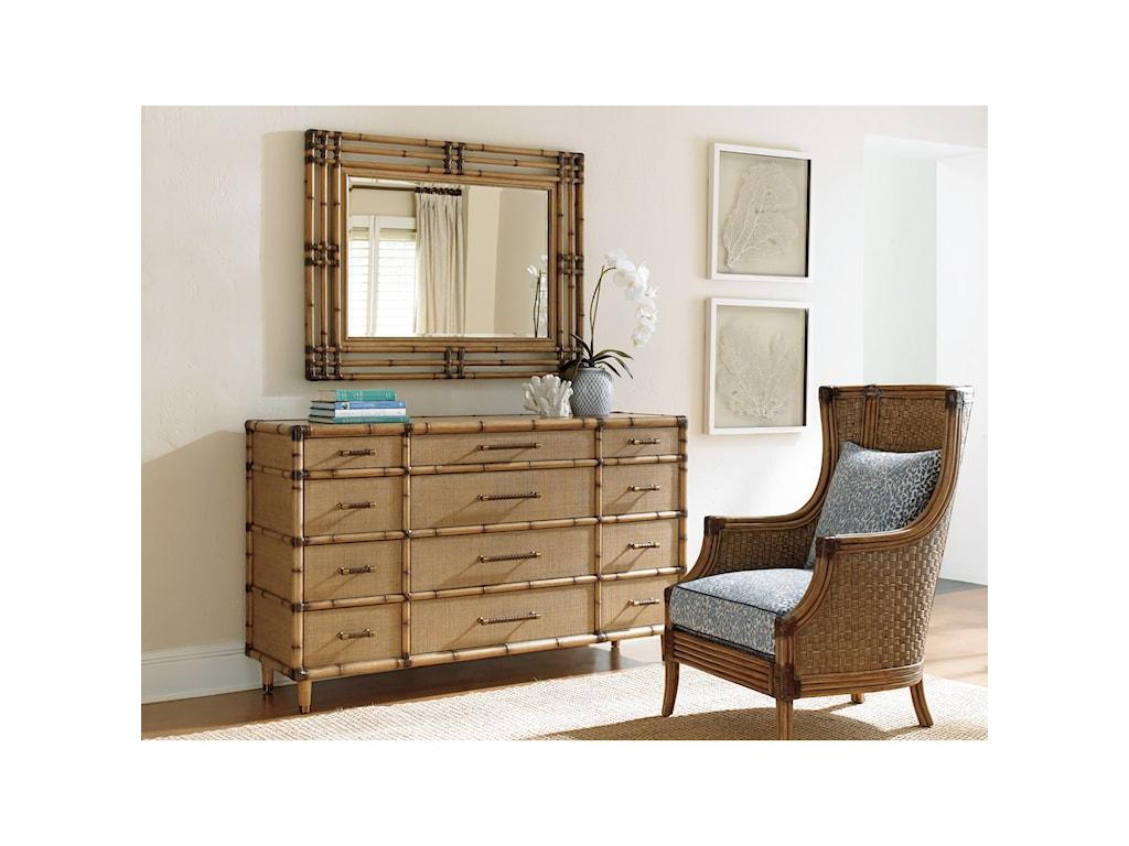 Tommy Bahama Home Twin PalmsWindward Dresser