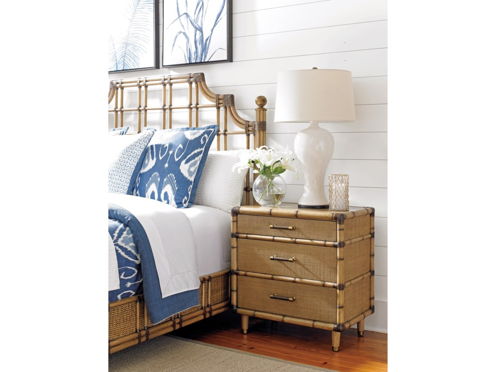 Tommy Bahama Home Twin PalmsParrot Cay Nightstand