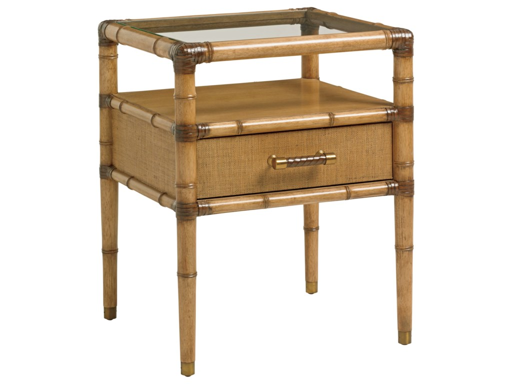 Tommy Bahama Home Twin PalmsBayshore Night Table