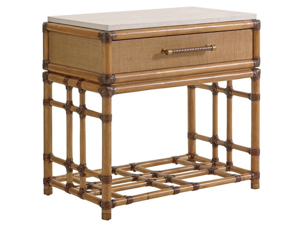 Tommy Bahama Home Twin PalmsCordoba Open Nightstand
