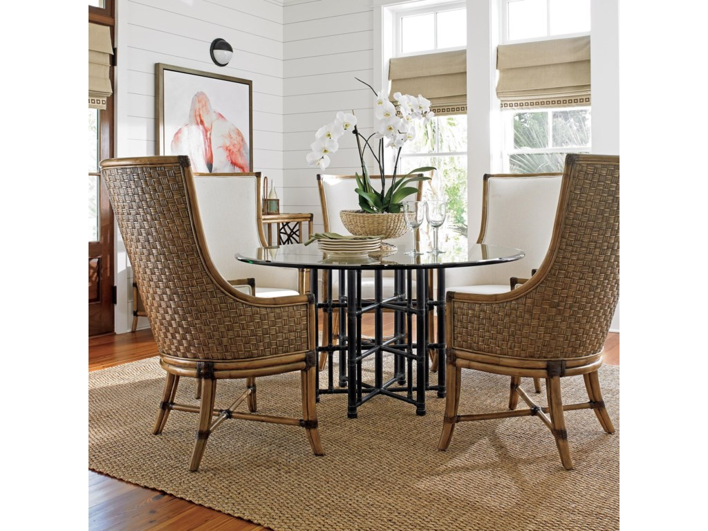 Tommy Bahama Home Twin Palms6 Pc Dining Set