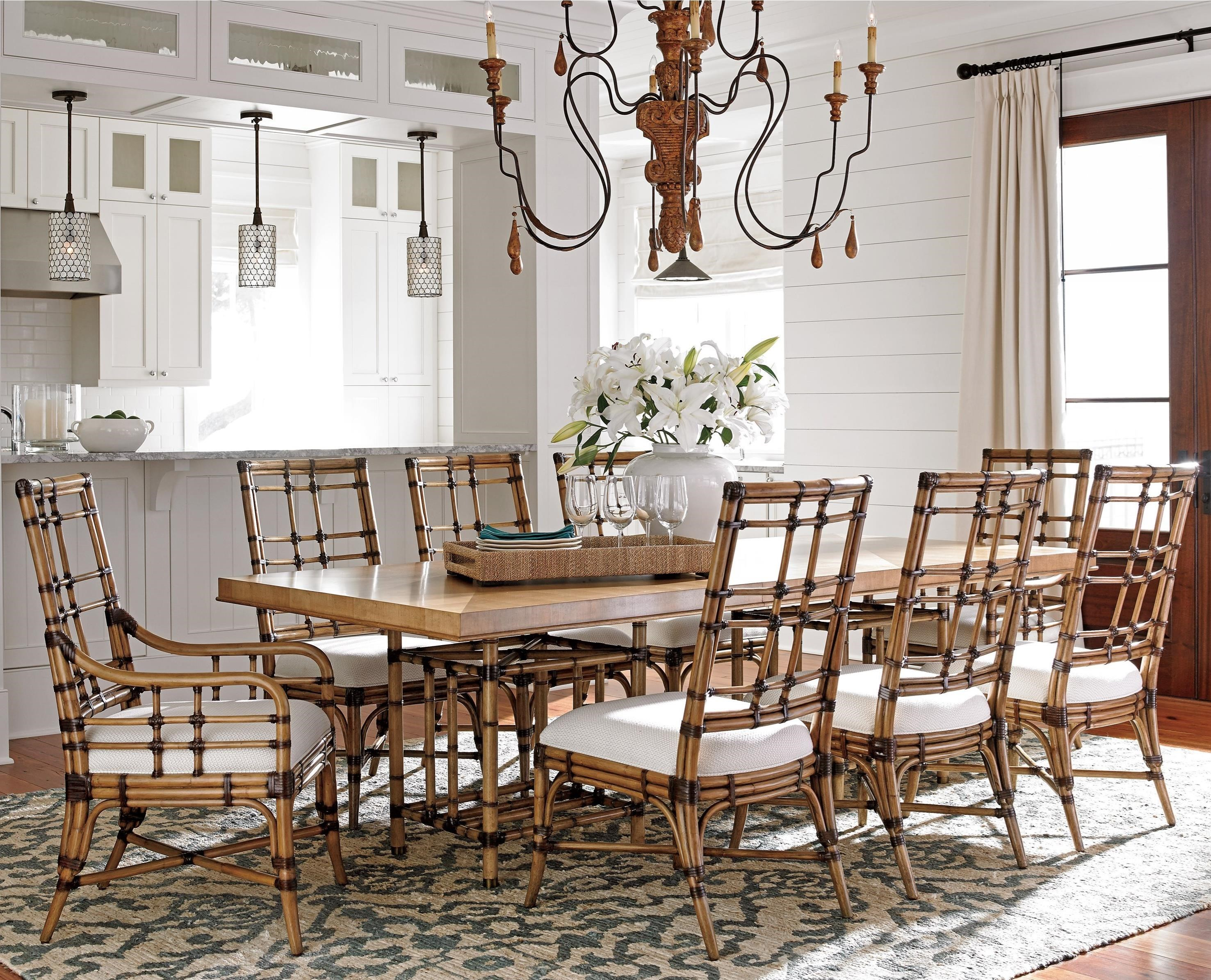 Tommy Bahama Home Twin Palms9 Pc Dining Set ...