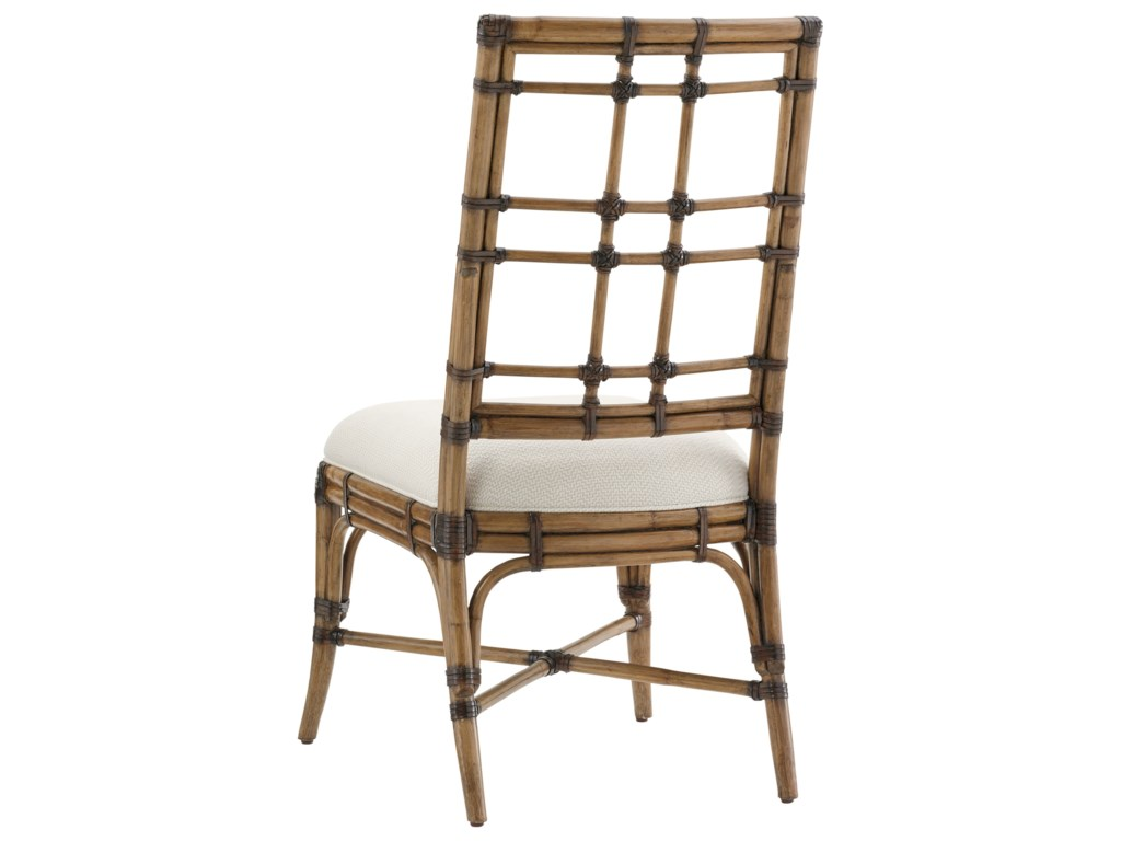 Tommy Bahama Home Twin PalmsSeaview Side Chair (Married Fabric)