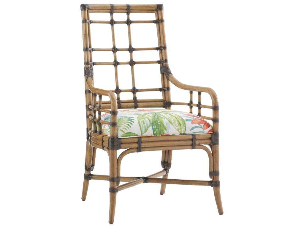 Tommy Bahama Home Twin PalmsCustomizable Seaview Arm Chair