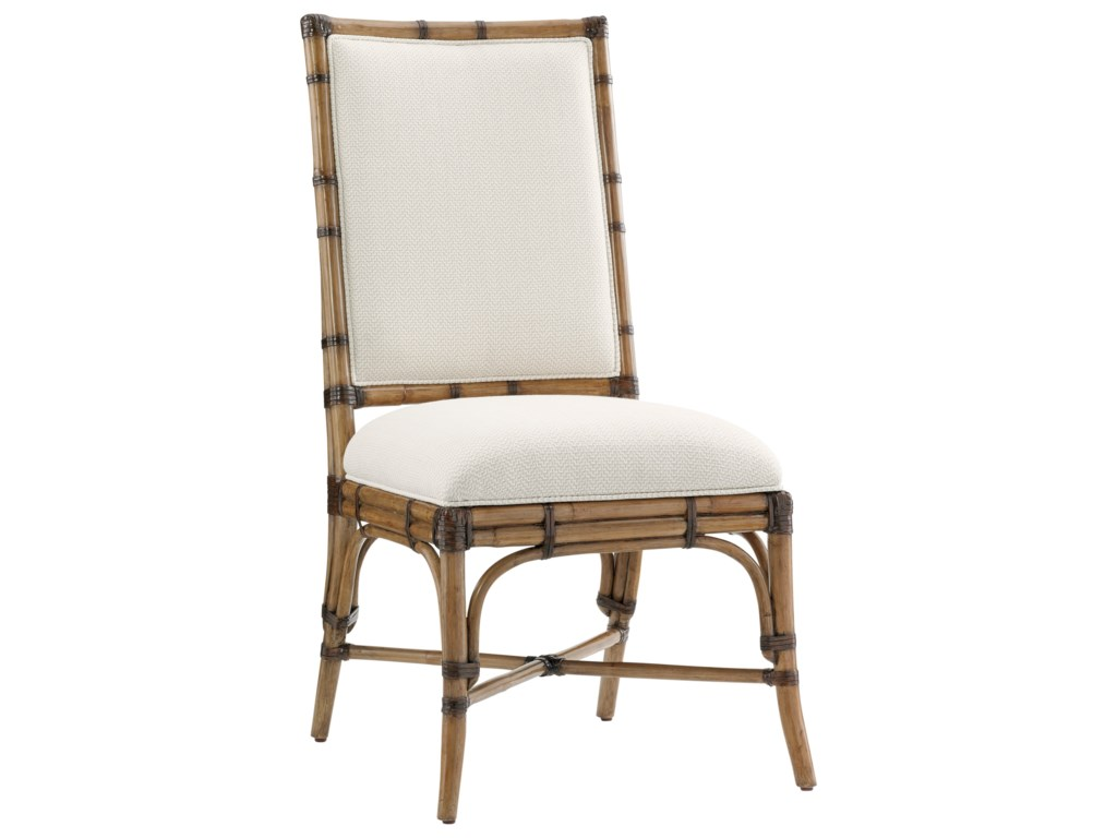 Tommy Bahama Home Twin PalmsSummer Isle Side Chair (Married Fabric)
